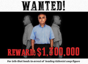 Turkey Offers $1.3 Million Reward for Information on Fugitive FET� Coup Leader