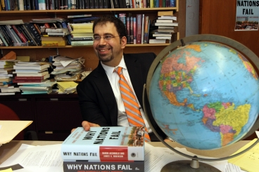 Daron Acemoglu Awarded Prestigious Carnegie Fellowships