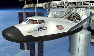 SNC's Space Systems Dream Chaser Flight Vehicle Arrived at NASA