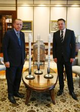 Tesla and SpaceX chief Elon Musk meets Erdogan in Turkey