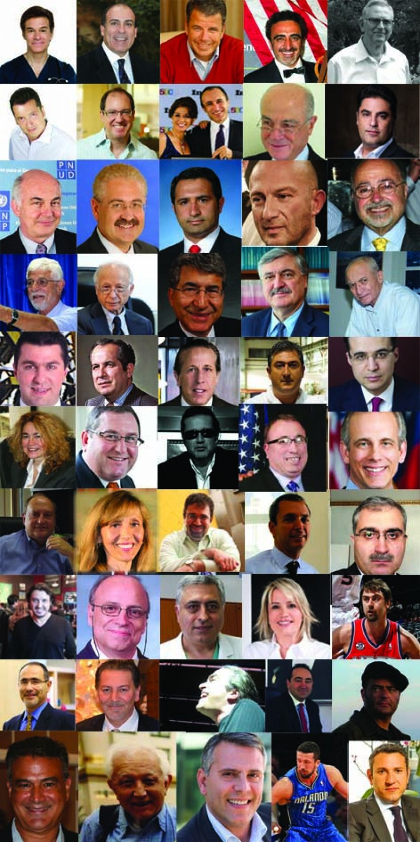 What A List! The 50 Most Influential Turkish-Americans