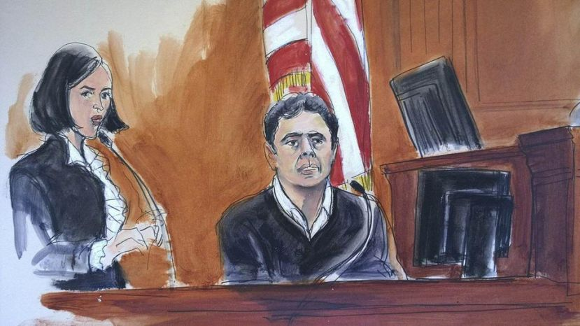 Mehmet Hakan Atilla stood in Manhattan federal court this week. ( AP )