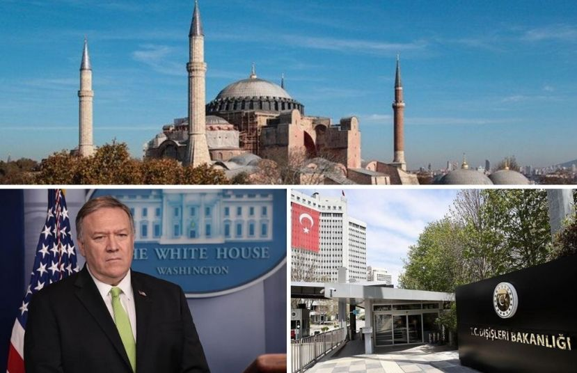 Secretary Pompeo: Hagia Sophia should remain a museum