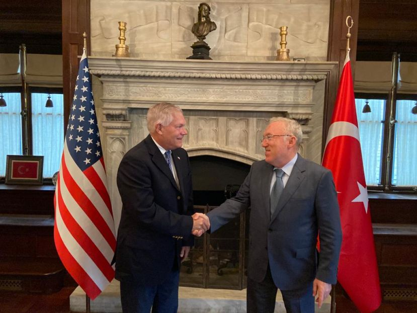 Turkish Ambassador Mercan started his new role in Washington,DC