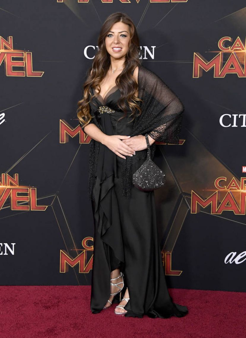Pinar Toprak at the Marvel Studios 'Captain Marvel' Premiere. Picture: Getty