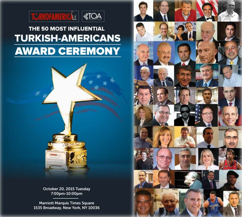 The 50 Most Influential Turkish-Americans In the U.S.