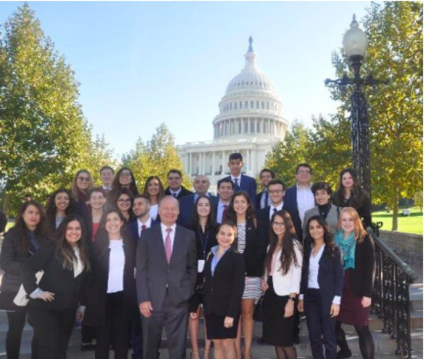 Youth Leadership Congress delegates visit the U.S. Capitol
