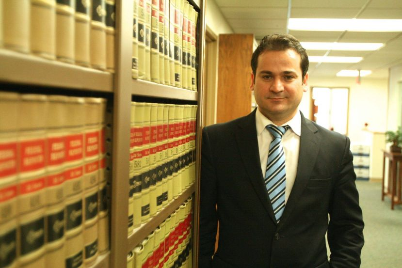 Lawyer Ayhan Ogmen.