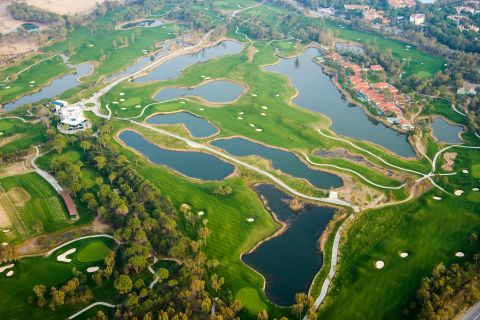 Antalya, on the Mediterranean coast of Turkey, is home to a large concentration of golf courses.