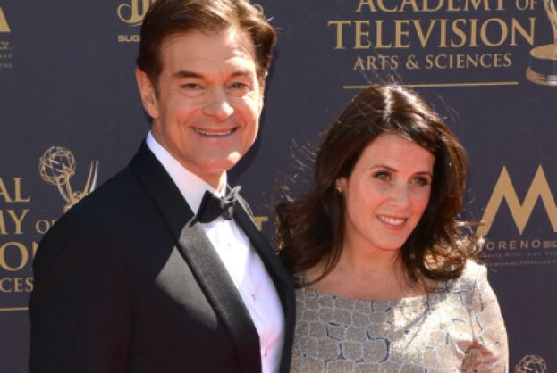Dr Oz with his wife Lisa.