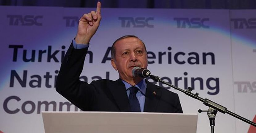 US Officials Eject Protesters Who Interrupted Erdoğan's Speech in New York