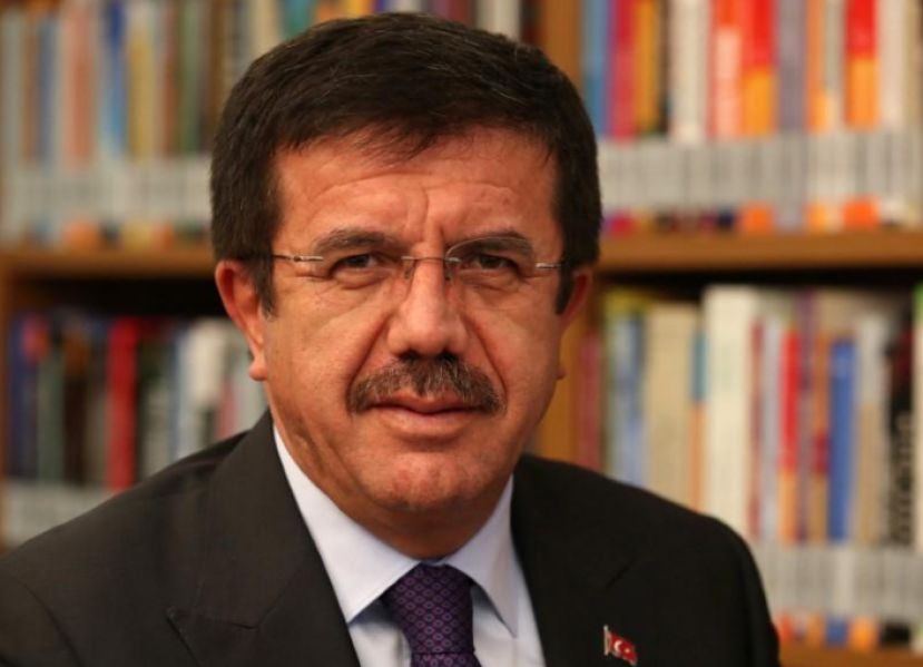 FILE PHOTO: Turkey's Economy Minister Nihat Zeybekci poses for a photo before an interview with Reuters in Ankara, Turkey January 12, 2018. Picture taken January 12, 2018. REUTERS/Umit Bektas