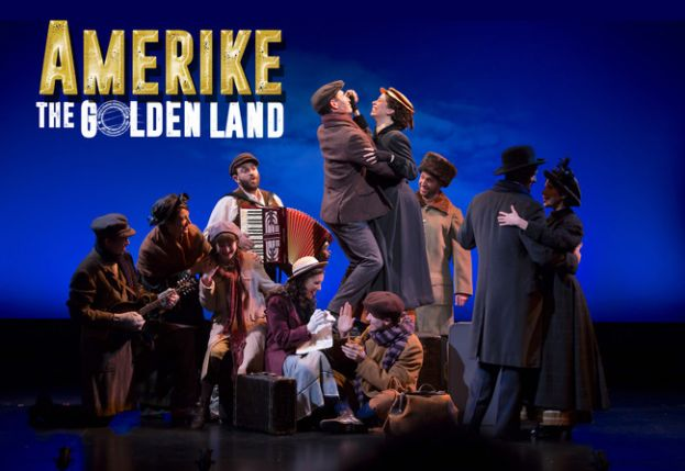 Producers of Beloved Immigration Musical Amerike -- The Golden Land Announce Extension of Off Broadway Run Through August 20th