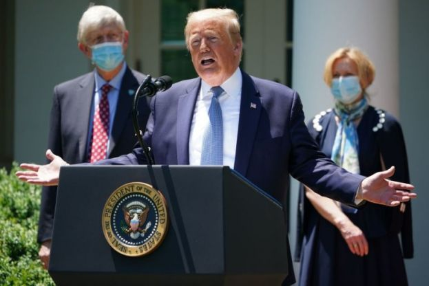"US President Trump: ""We think that we will have had a vaccination by the end of the year."""