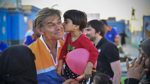 Dr. Oz Recounts His Visits to Syrian Refugee Camps