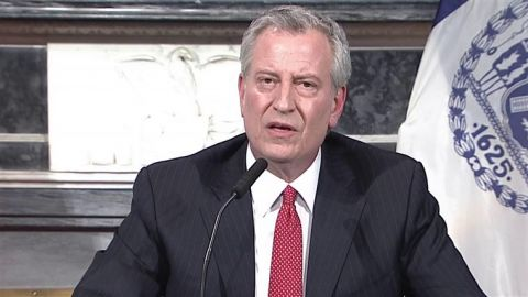 "NYC Mayor: ""Don't let your customers without masks in"""