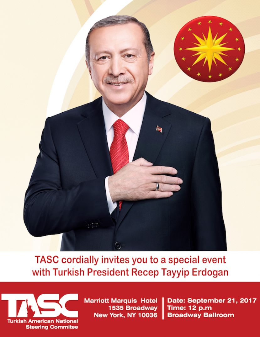 Turkish President Recep Tayyip Erdogan to meet with Turkish and Muslim American community leaders, advocates in NYC