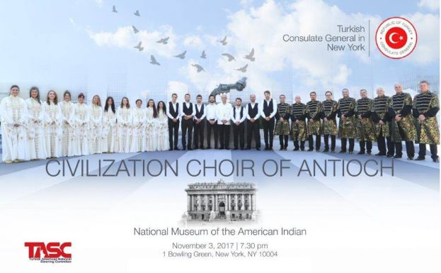 The Civilization Choir of Antioch Performs at National Museum of the American Indian