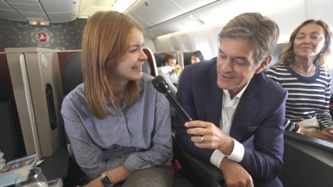 Turkish Airlines Works with Dr. Oz