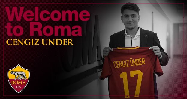Roma Sign Turkey International Cengiz Under from Basaksehir for €13.4m