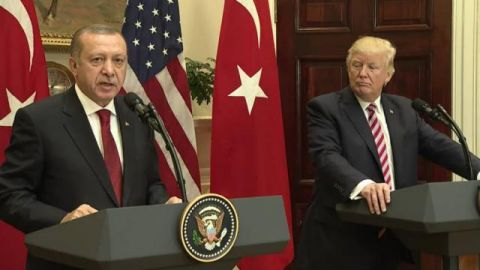Trump, Turkey's Erdogan Emphasize Push for Regional Stability in Call