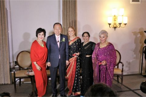 Ban Ki Moon and Women in Power Define Empowerment With Their Renewed Pledge To ''Help a Woman Rise""