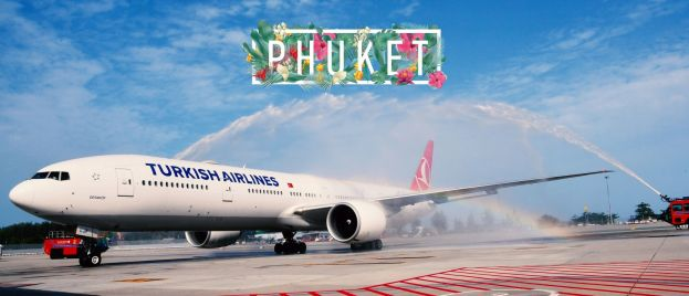 300th Flight Destination of Turkish Airlines is Phuket