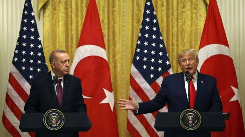 President Erdogan's Four Hour Meeting with President Trump at White House