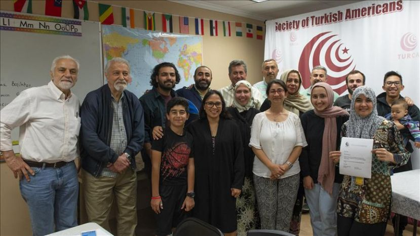 20 American Muslims Take Turkish Language Course