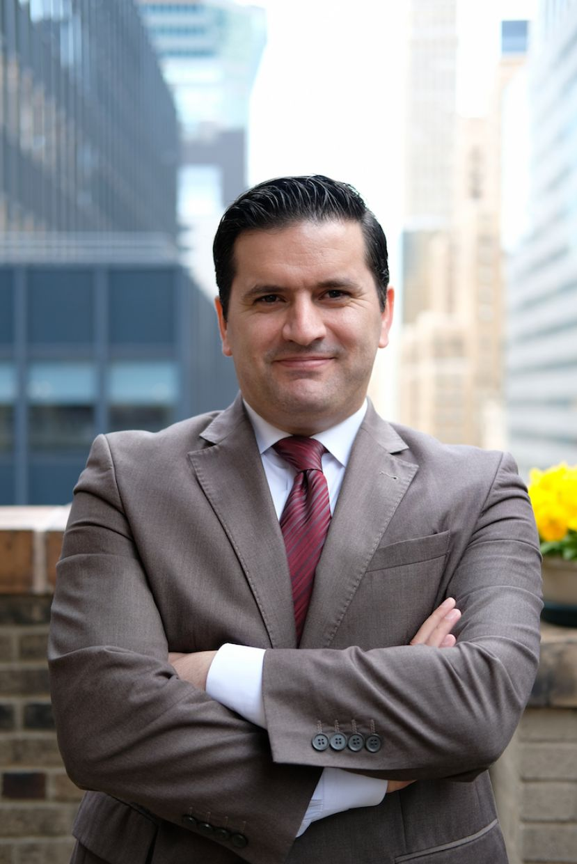 Kucuk Gungor Bag, General Manager of Roger Smith Hotel