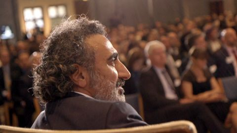"In February, VICE will debut a new documentary called ""Moving Humanity Forward,"" a film focused on Chobani founder and CEO Hamdi Ulukaya's ""anti-CEO"" playbook. (Photo courtesy of Chobani/VICE)"