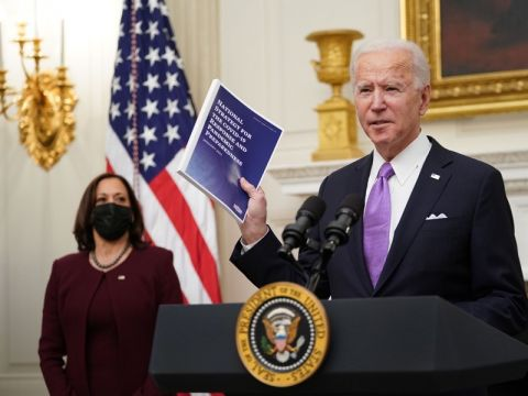 The Biden Administration Accelerates the Vaccination Process