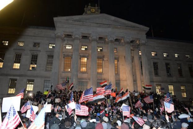 Protests Continue Against Trump's 'Muslim Ban' in New York