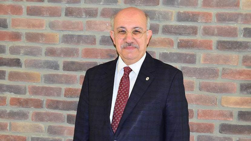 Prof. Mehmet Karaca, rector of the university.