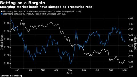 Goldman Fund Buys Turkey, Argentina Debt, Says Rout Overdone