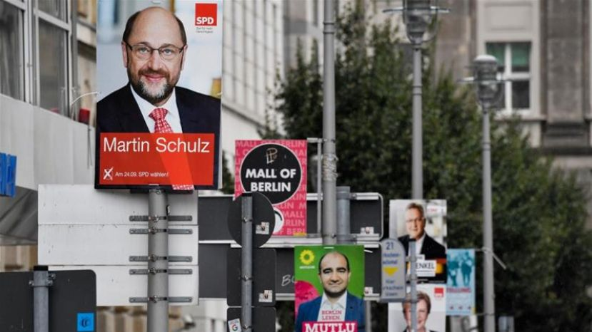 German voters will head to the polls on September 24 [AFP/Getty Images]