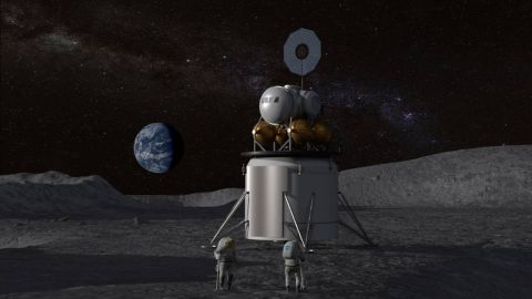 NASA Awards $45.5 Million for Private Moon Lander Work on Project Artemis
