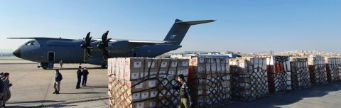 Turkey Flies Medical Aid to Coronavirus-stricken U.S.