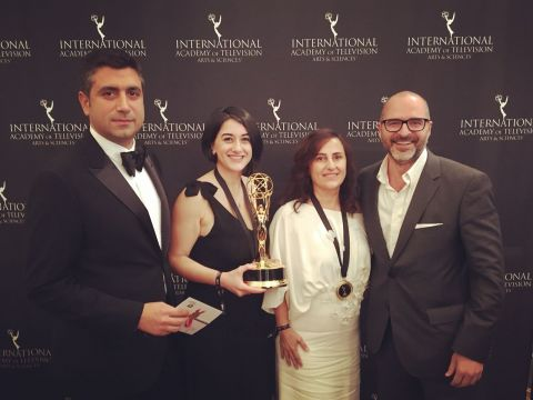 "Turkish drama series ""Kara Sevda"" (Endless Love) won Best Telenovela at the 45th International Emmy Awards on Nov. 21."