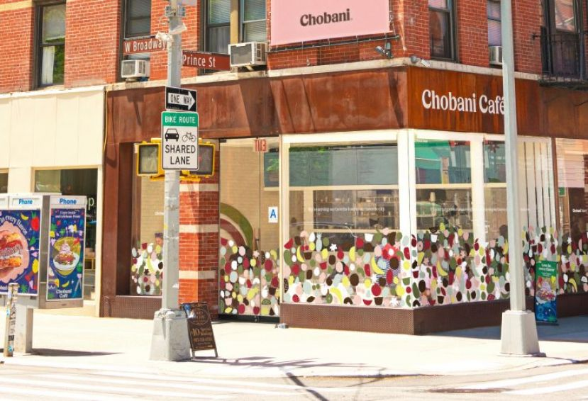 Chobani Repurposes SoHo Cafe Into Food Pantry Amid COVID-19 Pandemic