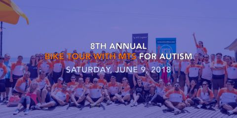 MTS Logistics Bike Tour Benefit to Autism Charity