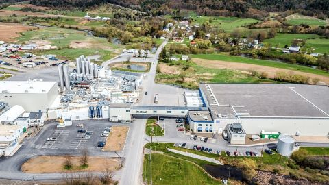 The Chobani yogurt factory in South Edmeston employs approximately 1,000 people