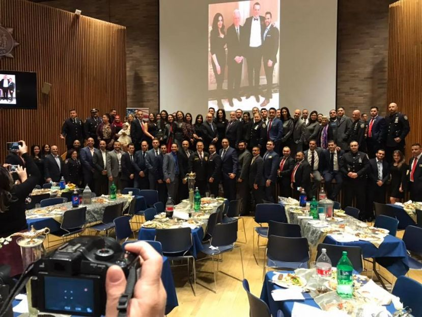 NYPD Members and Community Leaders gather at NYPD MTS Heritage Gala